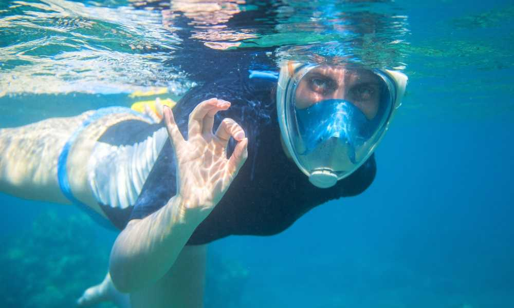 Easy Snorkel Full Face Snorkeling Mask Review