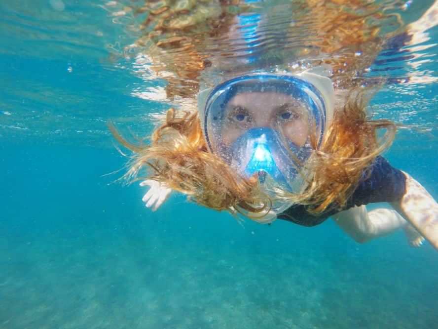 Adepoy Snorkel Mask